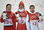 Hanna Huskova, Zhang Xin and Kong Fanyu