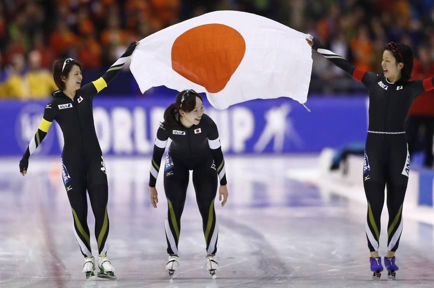 Miho Takagi, Ayano Sato and Nana Takagi