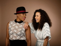 Aisha Hinds And Jurnee Smollett-bell poster