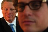 Al Gore & Davis Guggenheim poster