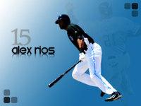 Alex Rios poster