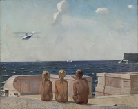 Alexander Deineka poster