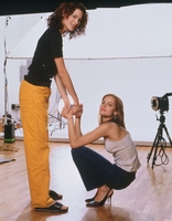 Amber Valletta And Shalom Harlow poster