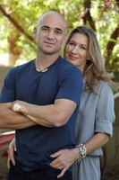 Andre Agassi And Stefanie Graf poster