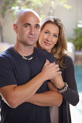 Andre Agassi And Stefanie Graf poster #3670711