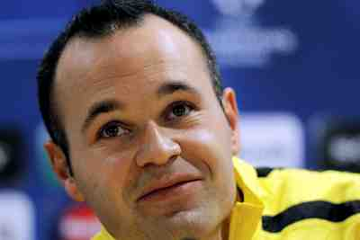Andres Iniesta poster #2383362