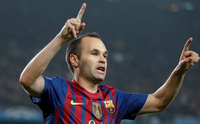 Andres Iniesta poster #2383364