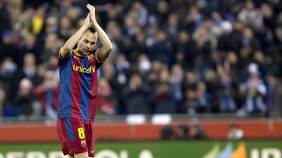 Andres Iniesta poster #2383366