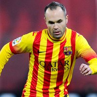 Andres Iniesta poster