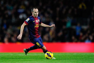 Andres Iniesta poster #2383371