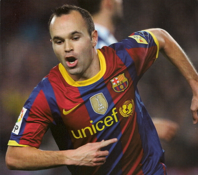 Andres Iniesta poster #2383373