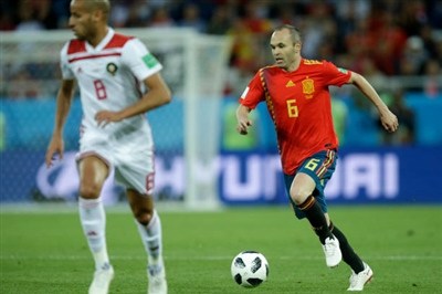 Andres Iniesta poster #3334488