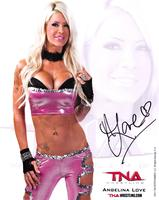 Angelina Love poster