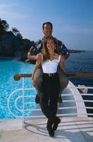 Arnold Schwarzenegger And Linda Hamilt poster