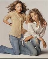 Ashley & Mary Kate Olsen poster