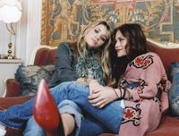 Ashley and Mary Kate Olsen mousepad