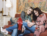 Ashley and Mary Kate Olsen poster