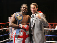 Audley Harrison poster