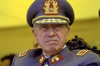 Augusto Pinochet poster