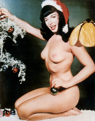 A Bettie Page Hot Print