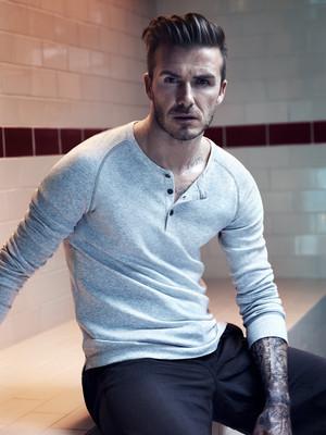 A David Beckham Poster