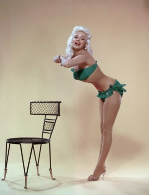A Jayne Mansfield Pin-Up Poster