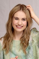Lily James poster
