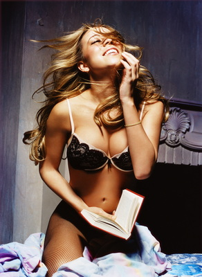 A Hot Mariah Carey Poster