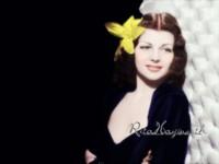 Rita Hayworth poster