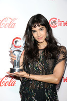 Sofia Boutella pillow