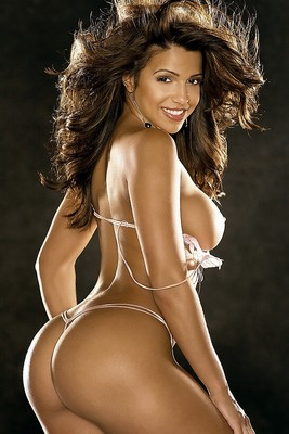 A Vida Guerra Photo for the Playboy Cover