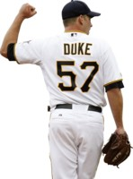 Zach Duke poster